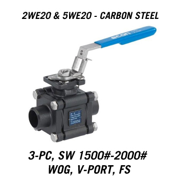Welded Ball Valves